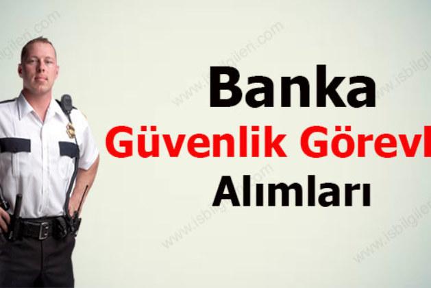 Denizbank Banka Güvenlik Görevlisi Alımı Yapıyor!