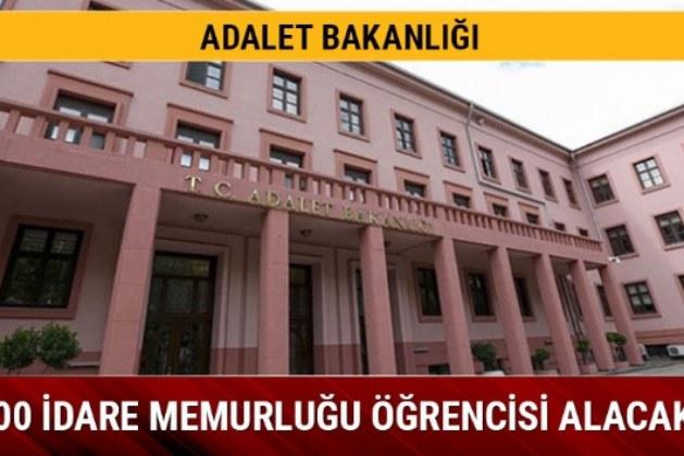 Adalet Bakanlığı'ndan İdare Memuru Başvuruları!